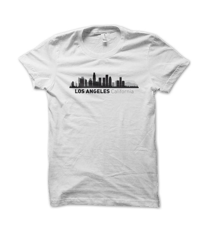 Angeles Originaux Los Humour CityTeezTee Et Skyline Shirt T UjVLSMGzqp