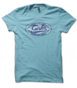 T-shirt Surfer Kapalua, Hawaii Surf Team