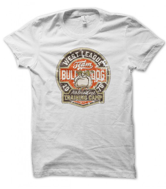T-shirt Bull Dog Team, West League USA