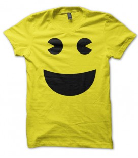T-shirt Pac Man Jaune by T-GeeK