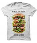 T-shirt Je n'ai pas besoin d'un Psy, mais d'un Burger