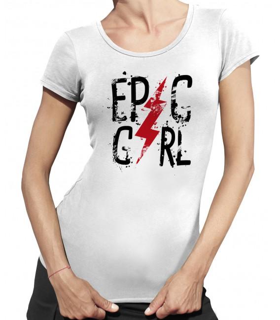 T-shirt Femme Epic Girl
