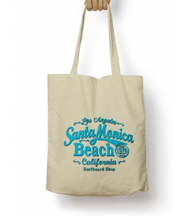 Tote Bag Santa Monica Beach