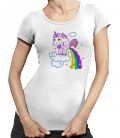Tee-Shirt Femme Licorne Prout