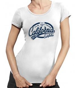 Tee Shirt Femme California Surfer