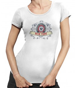 Tee-Shirt Femme, New York Genuine Quality Brand