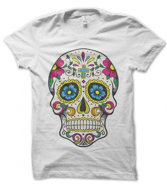 Tee Shirt Calavera, Crane mexicaine