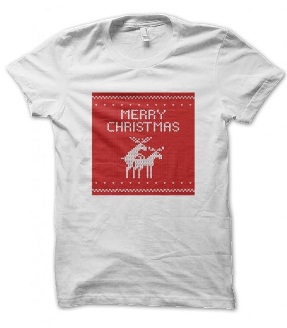 Tee Shirt Merry Christmas, Joyeux Noël