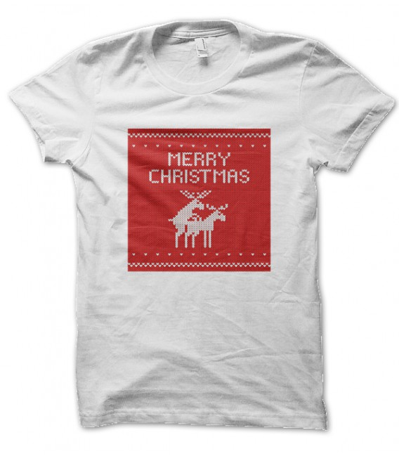 Tee Shirt Merry Christmas, Joyeux Noël