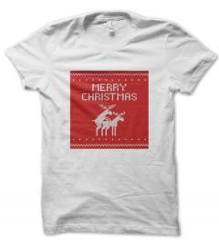 Tee Shirt Merry Christmas, Joyeux Noël !