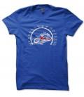 Tee Shirt Compteur Moto, pas plus vite qu'à fond !