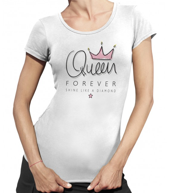 Tee Shirt Femme Queen Forever