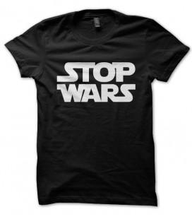 Tee shirt Stop Wars