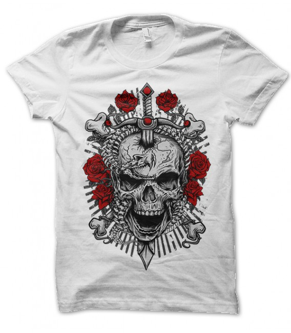 Tee Shirt Rebellion Skull