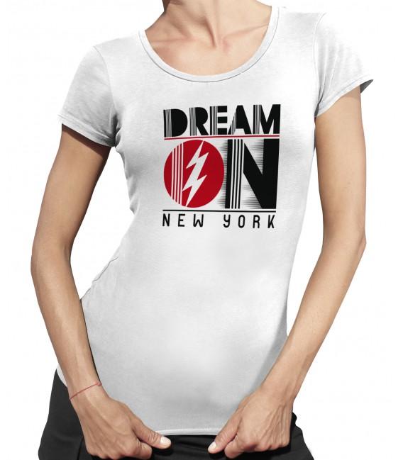 Tee-Shirt Femme, Donuts Barre de Musculation
