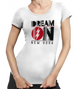 Tee-Shirt Femme, Dream On New York