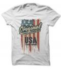 Tee-Shirt Homme, Original Vintage Brand USA Trademark