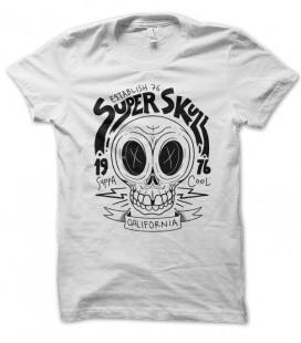 T-shirt Super-Skull Tête de Mort