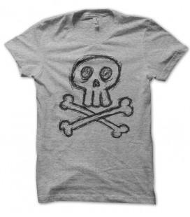 T-shirt Skull Tête de Mort Griboulli