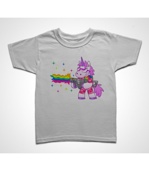 Tee shirt Enfant Licorne Warrior