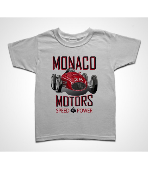 Tee shirt Enfant Monaco Motors