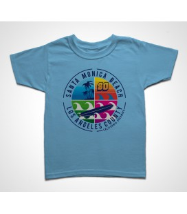 Tee shirt Enfant Santa Monica Beach