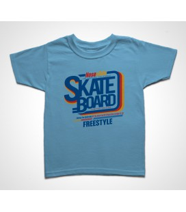 Tee shirt Enfant Skate Board Freestyle