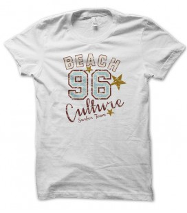 T-shirt Surf Beach Culture 96