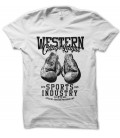 T-shirt Boxe Western League