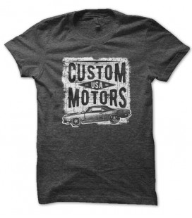 Tee Shirt Custom Motors USA