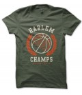 Tee Shirt BasketBall Harlem Champs