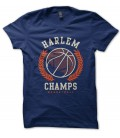 Tee Shirt BasketBall Harlem Champs