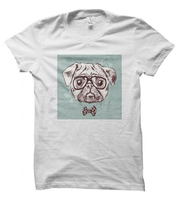 T-shirt Dog Noeud Pap'