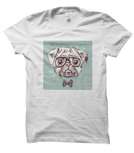 T-shirt Dog Noeud Pap'