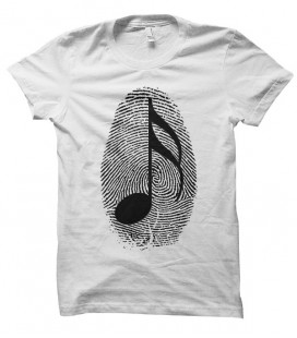 T-shirt Stamp Music