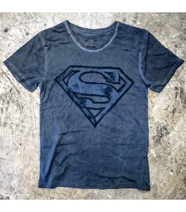 Tee Shirt vintage SUPERMAN, Officiel DC Comics