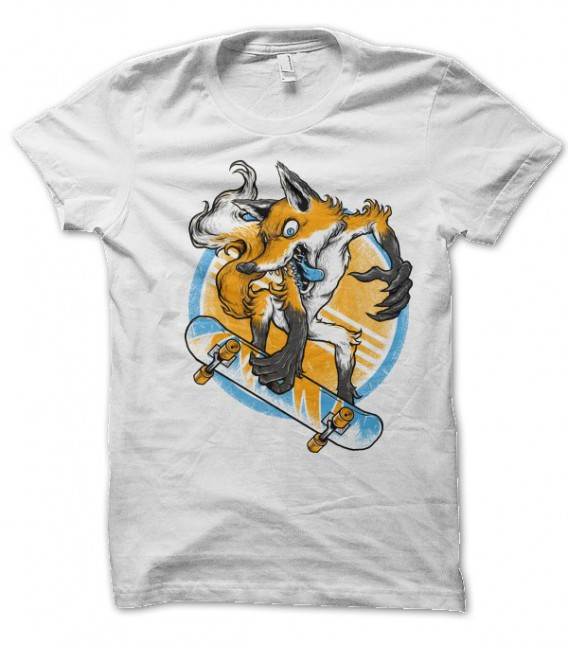 T-shirt FoX Skater