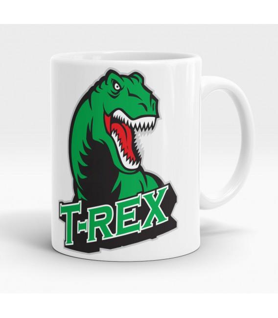 Mug blanc, T-Rex