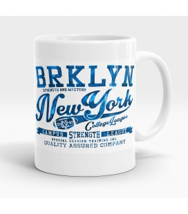 Mug blanc, Brooklynn, New York Campus