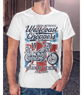 Tee Shirt West Coast Choppers - Custom Motorcycles