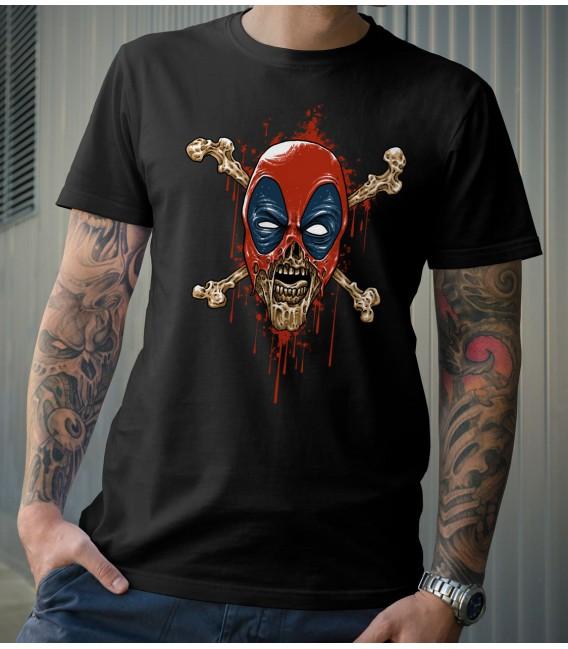 T-Shirt Dead Zombien deadpool