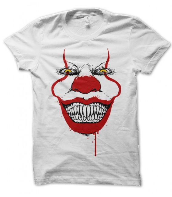 Tee Shirt mode homme It, Halloween Grin,