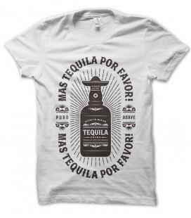 Tee shirt mas tequila por favor