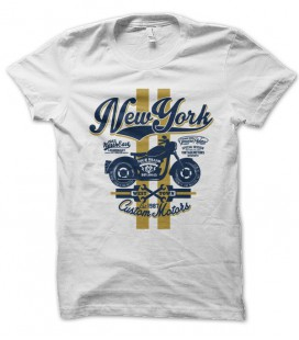 T-shirt New York Custom Motors
