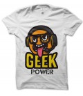 Tee Shirt GEEK POWER, de T-GeeK
