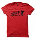 Tee Shirt Evolution Born to Stunt Moto