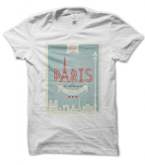 T-shirt Paris is always a good idea