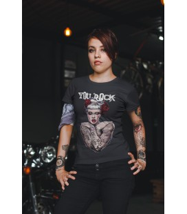 Tee Shirt Femme You Rock Tattoo