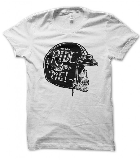 T-shirt Ride with me