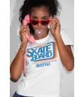 Tee Shirt Femme Skate Board, Free Style, Nose Slide Los Angeles